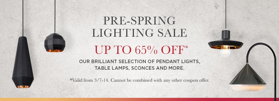 Lighting Sale