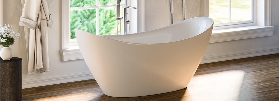 Freestanding tubs stand alone bathtubs for sale free for Free standing tubs for sale