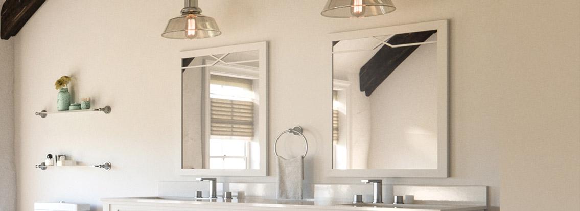 Wood Framed Bathroom Mirrors Wood Wall Mirror Wood Vanity Mirrors