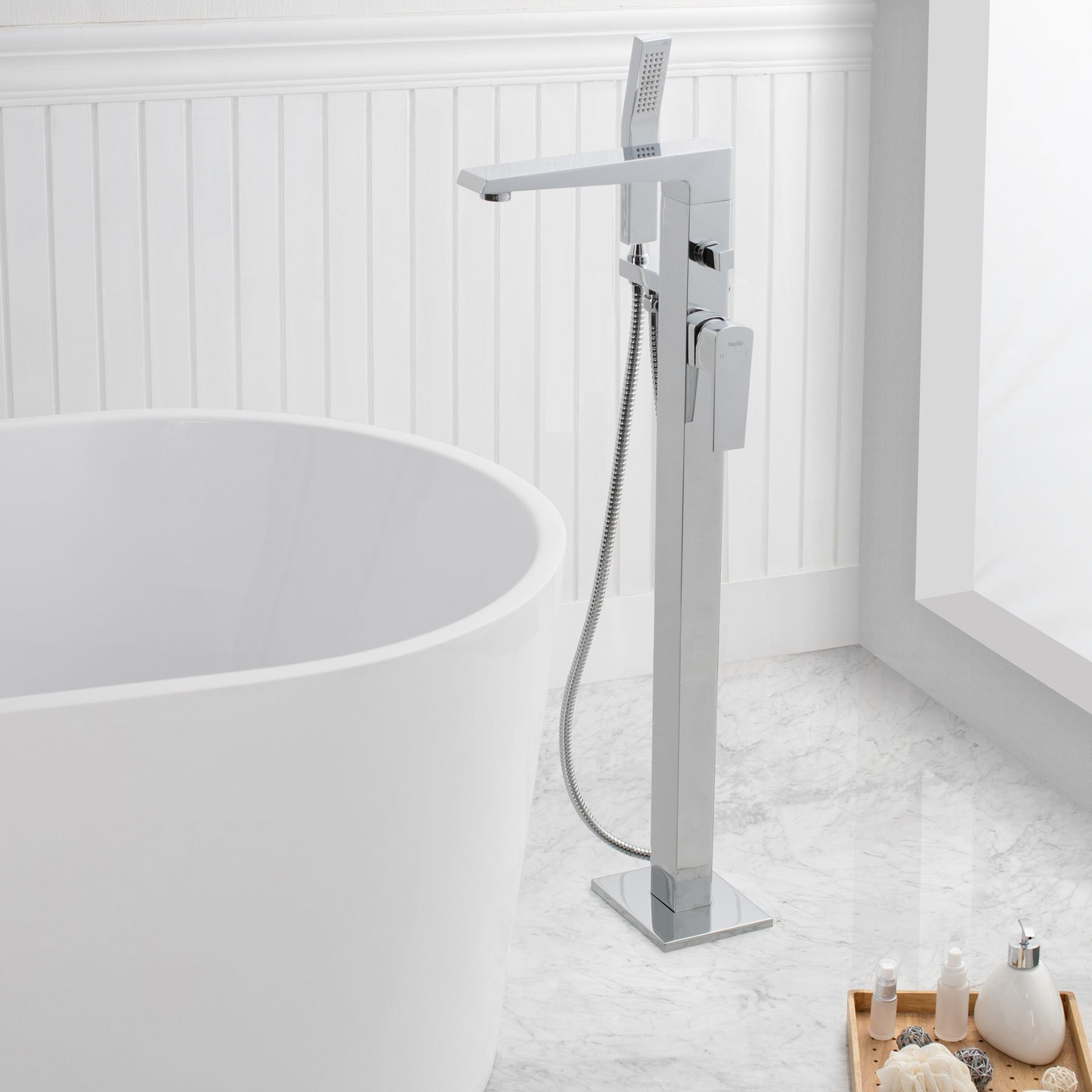 Augusta Freestanding Bathtub Faucet With Hand Shower. Previous; Next