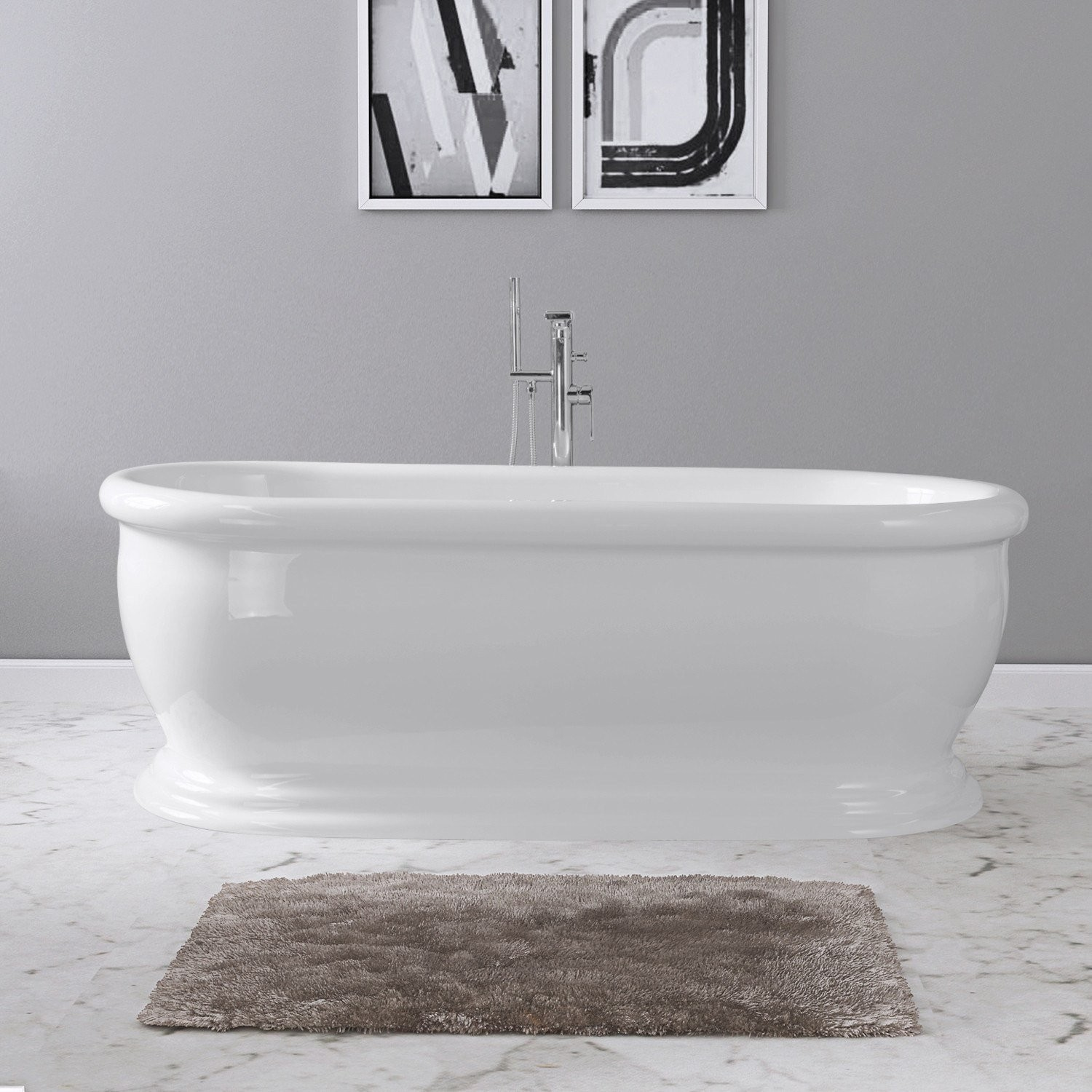 69 Elizabeth Freestanding Bathtub