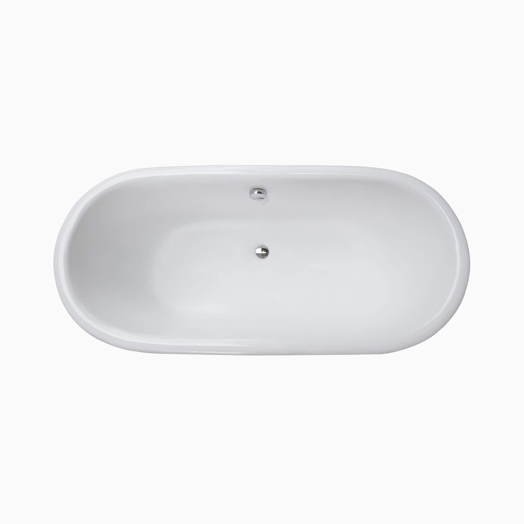 66 Halden Cast Iron Bathtub