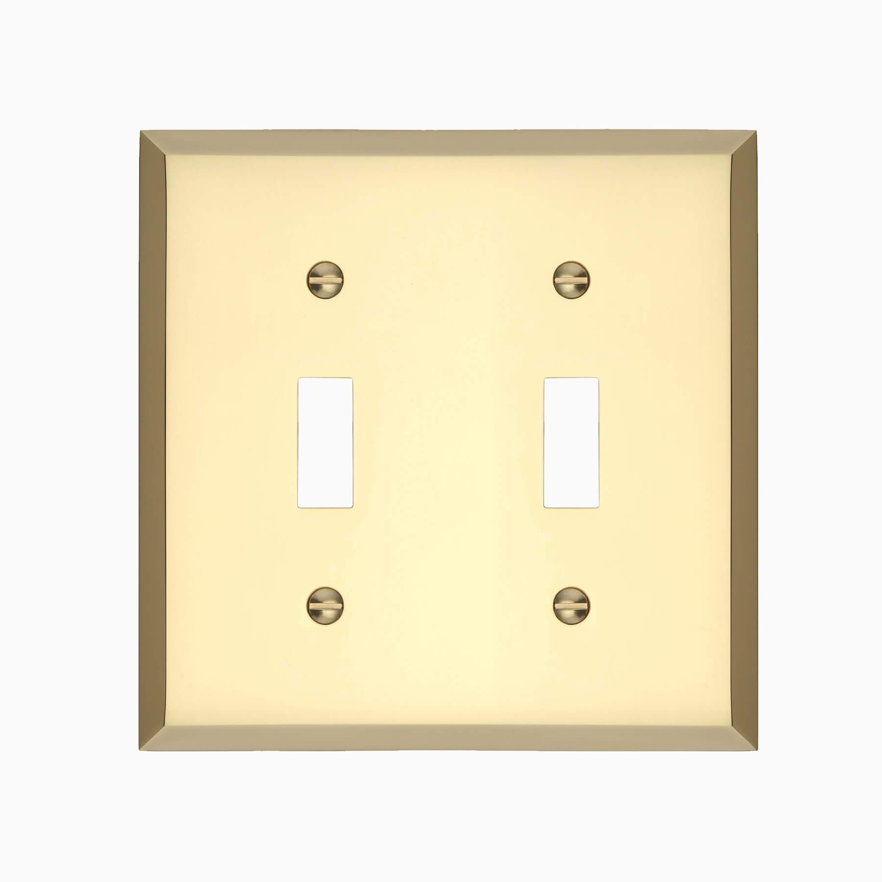 Graham Double Light Switch Cover - Wall Mounted Electrical Switch ...