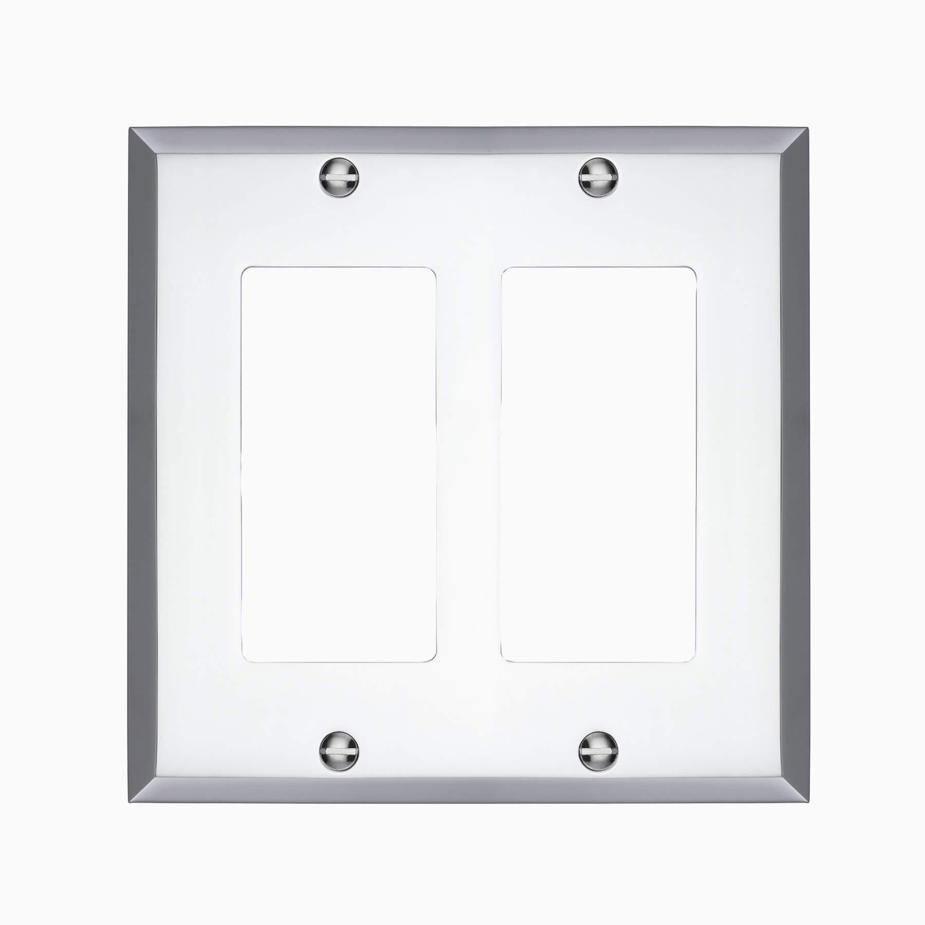 Double Light Switch Cover Graham Double Rocker Switch Cover