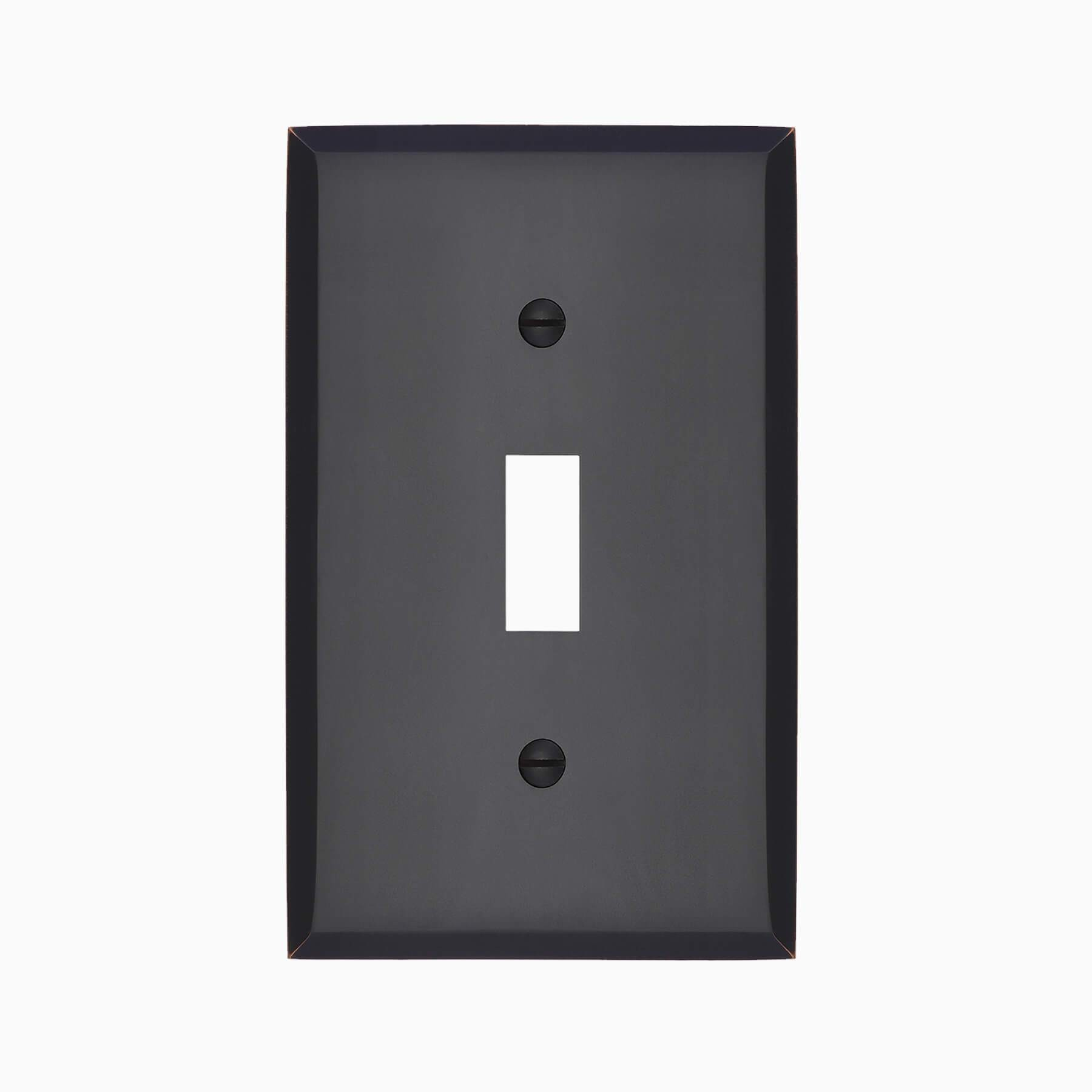 Graham Single Light Switch Cover - Wall Mounted Electrical Switch Plate