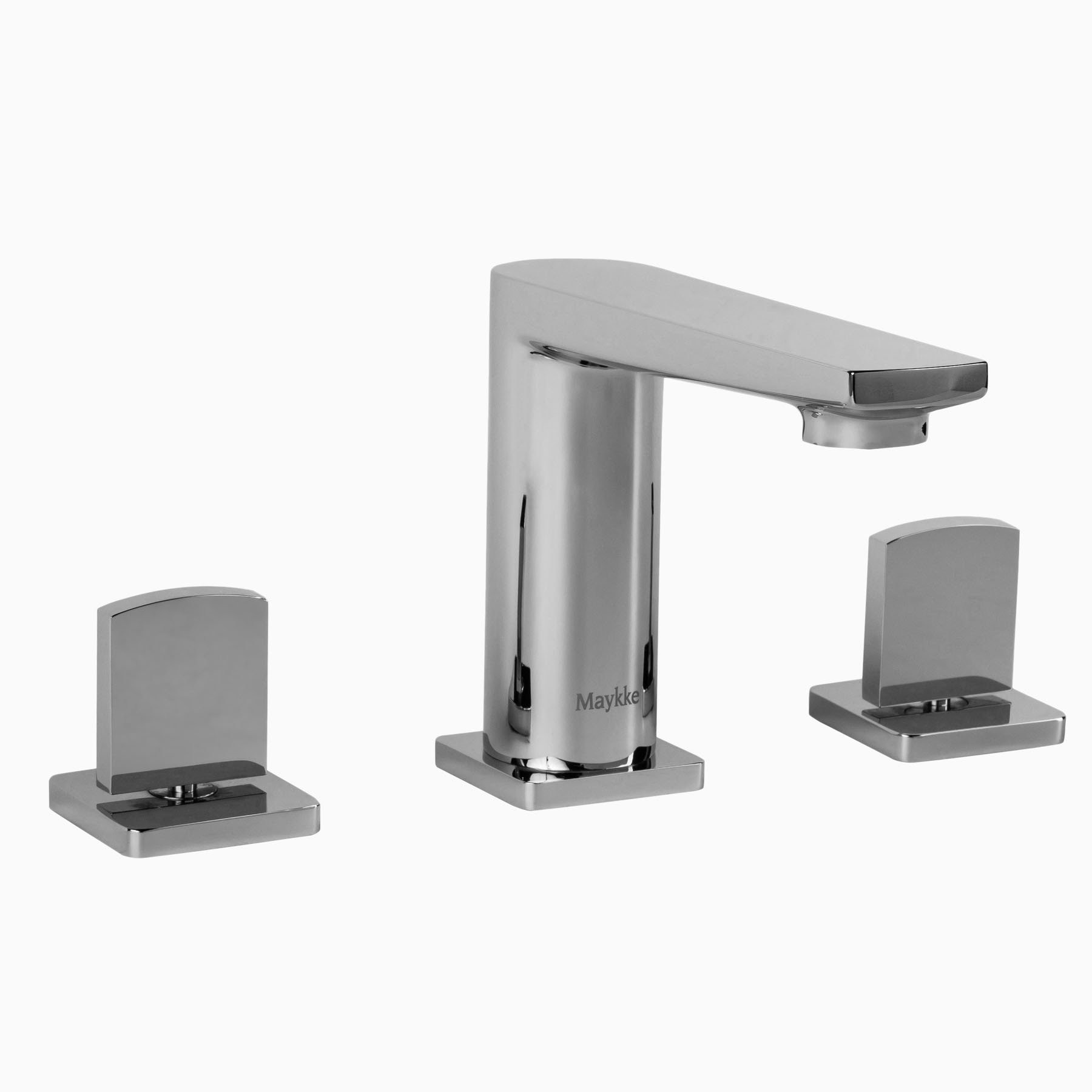 Adalbert Brass Bathroom Sink Faucet, 3 Piece Bathroom Faucet