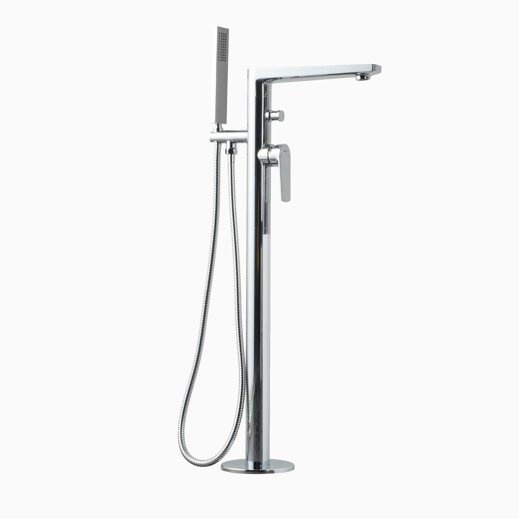 faucet single hardware kohler filler waterfall for pot parts sink bathroom brushed bathtub rubbed faucets oil shower tub freestanding bronze handles delta nickel clear vessel glass