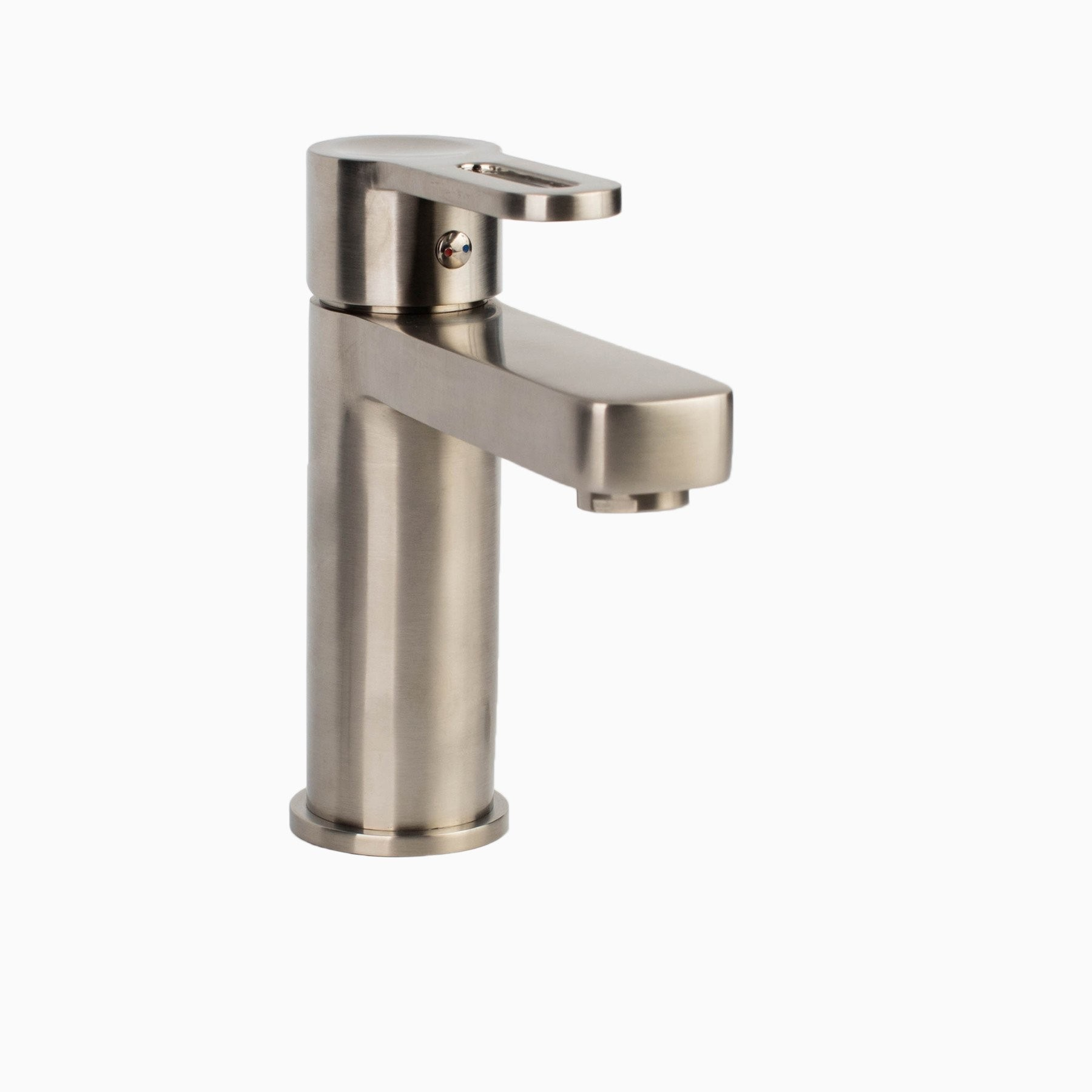Allegro Single Handle Lavatory Sink Faucet Brushed Nickel