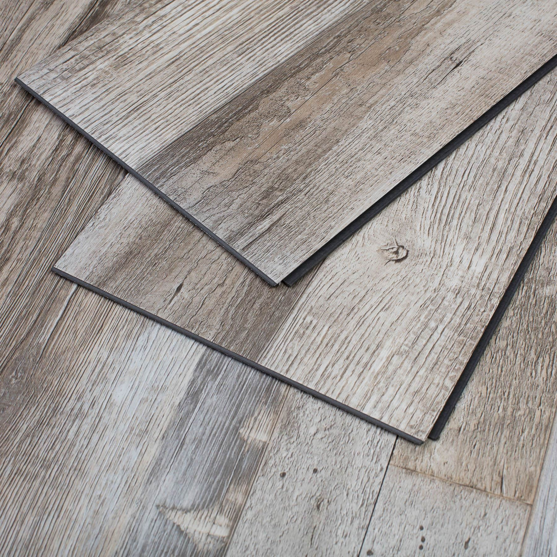 Vinyl Interlocking Plank Flooring
