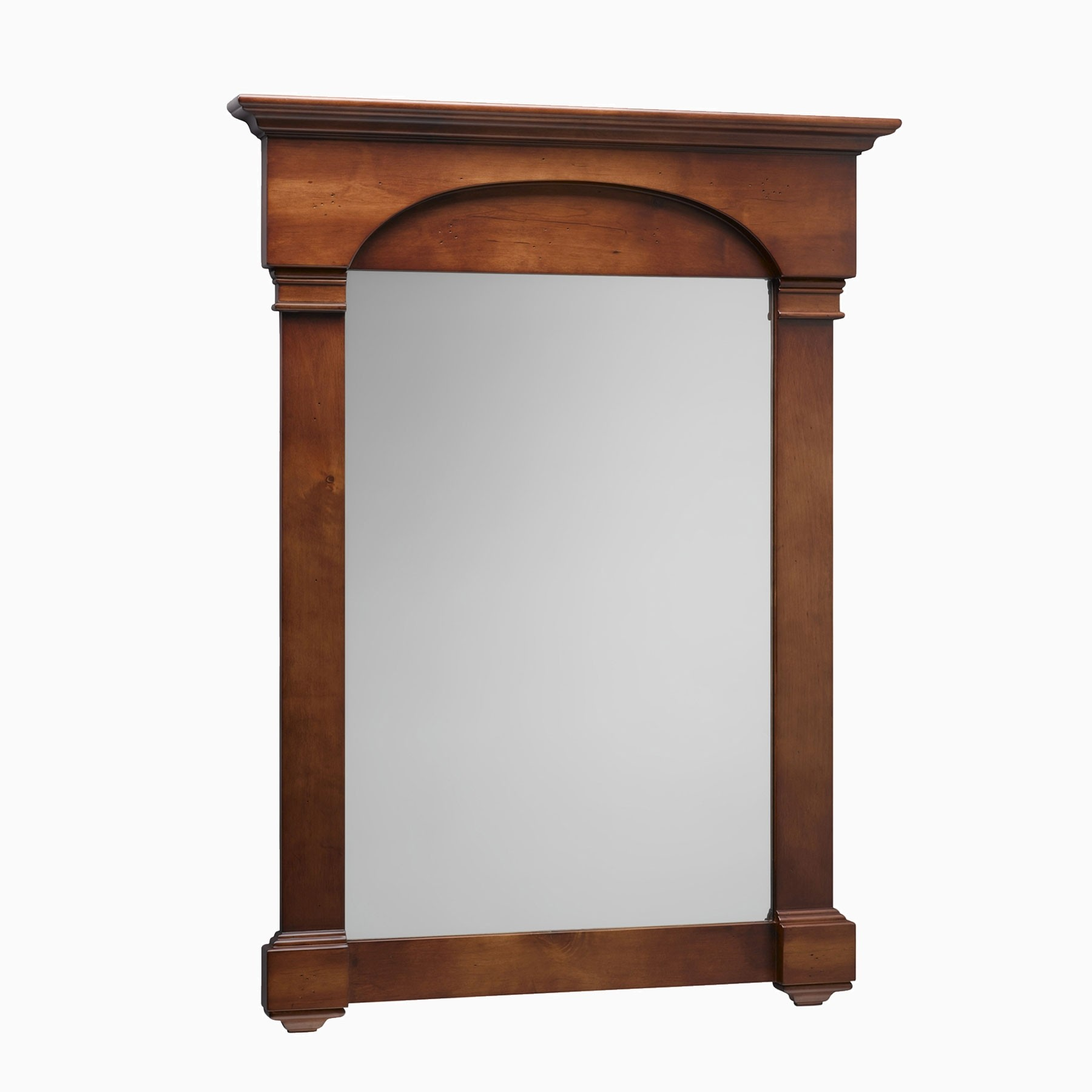 Betty 30 W X 40 H Wood Framed Rectangle Wall Mirror Cherry Americana