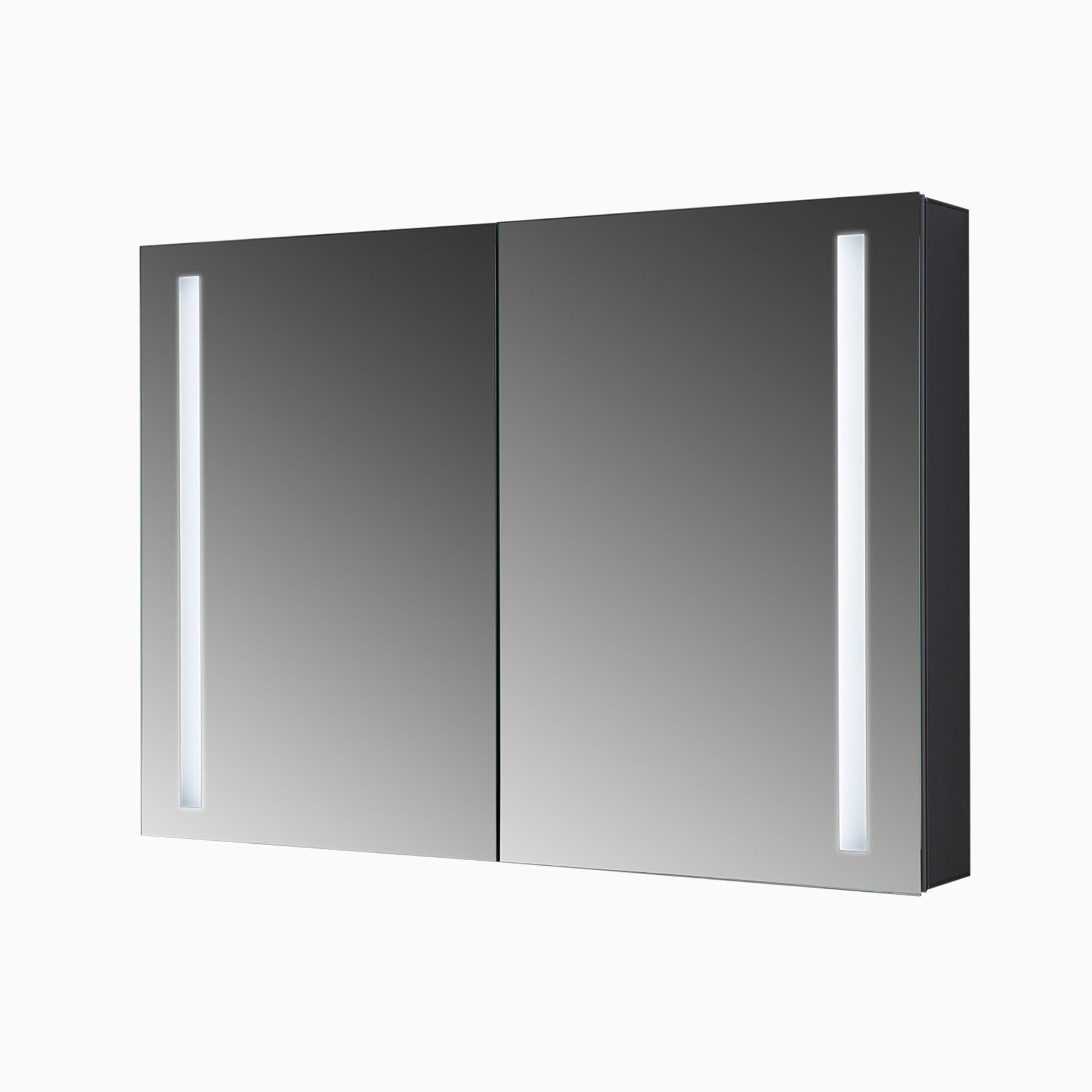 bailey  w x  h led mirrored medicine cabinet with  doors. bailey  inch w x  inch h led mirrored medicine cabinet with