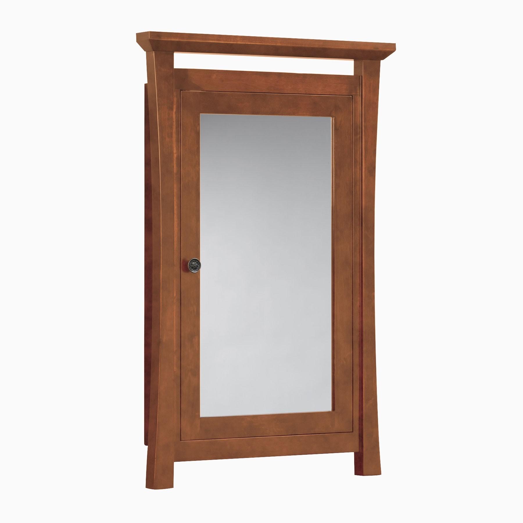 Wood Framed Medicine Cabinet