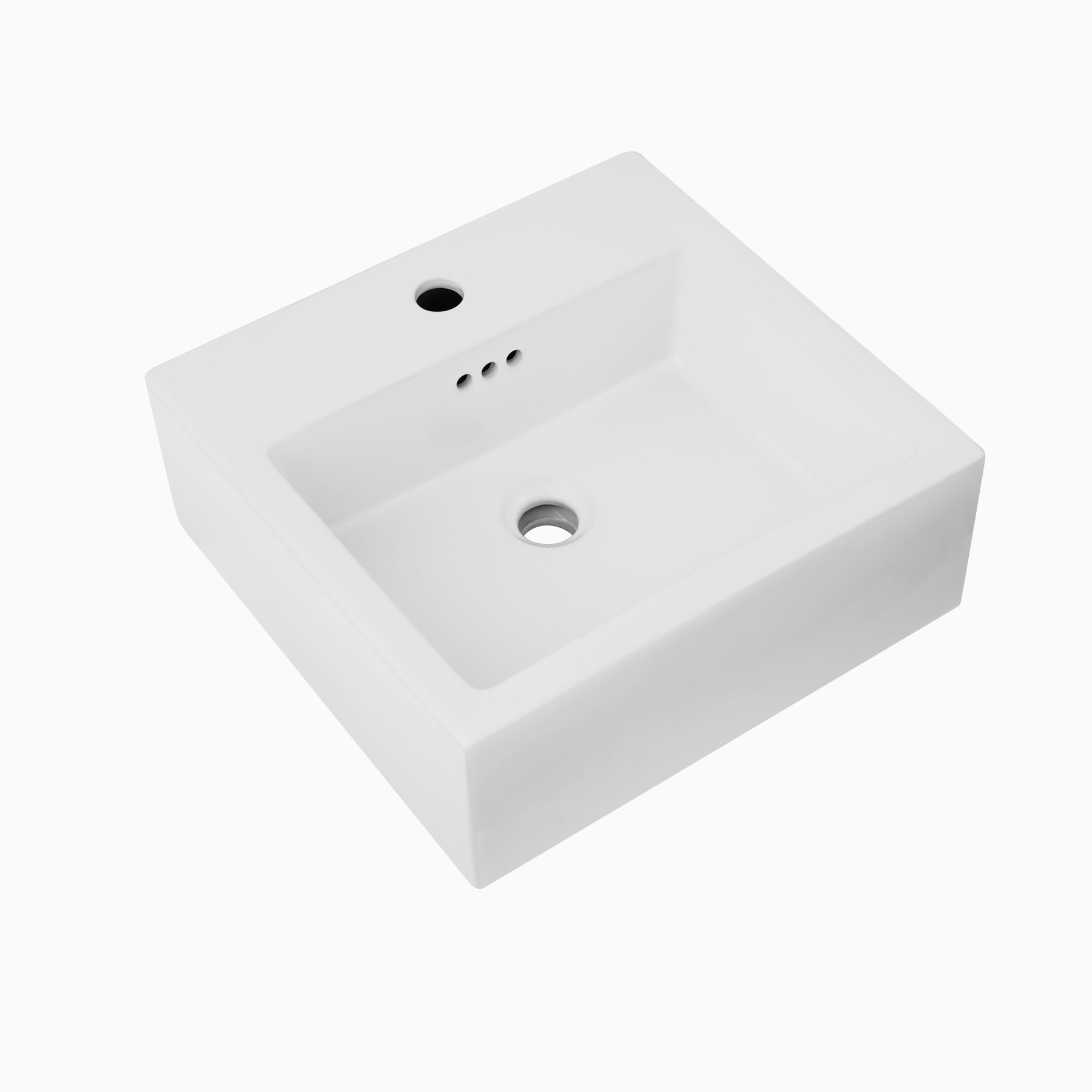 Charmant Brilon Ceramic Vessel Sink