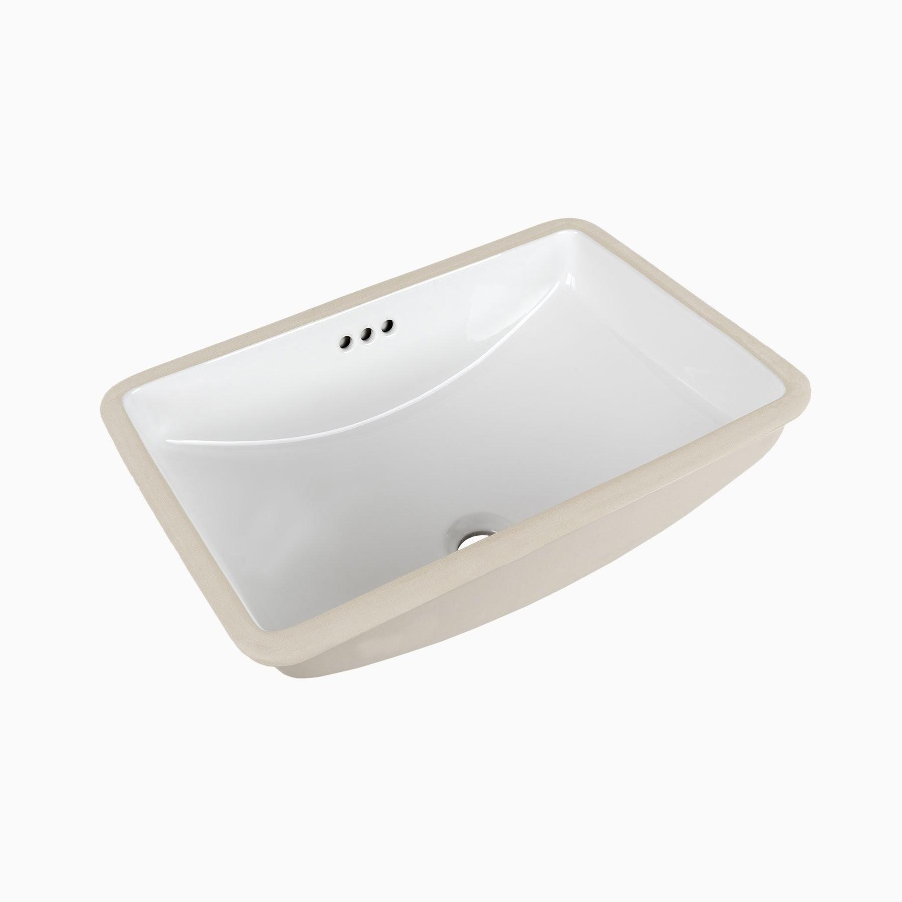 Bristol Ceramic Undermount Sink In White