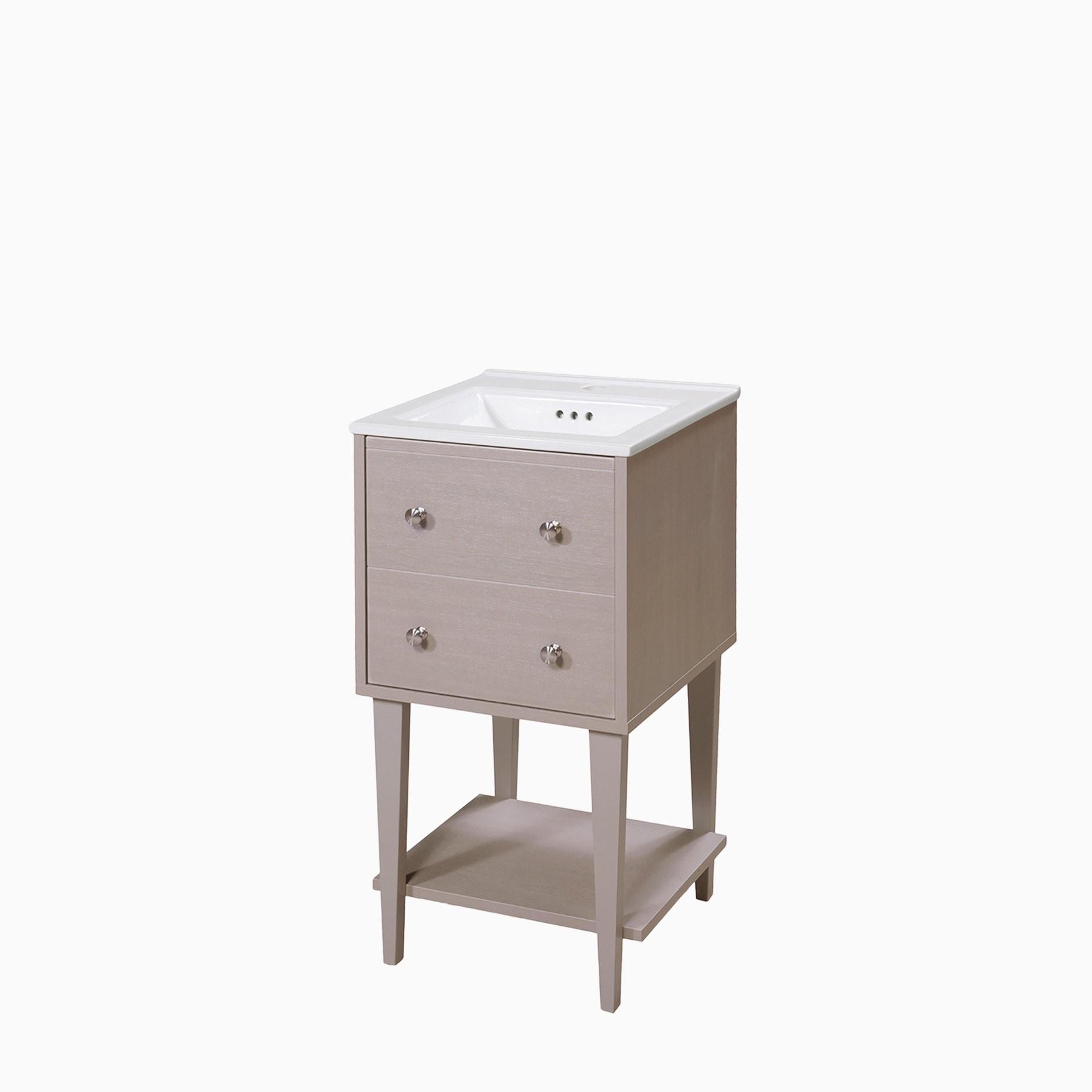 Sink Freestanding Bathroom Vanity Set