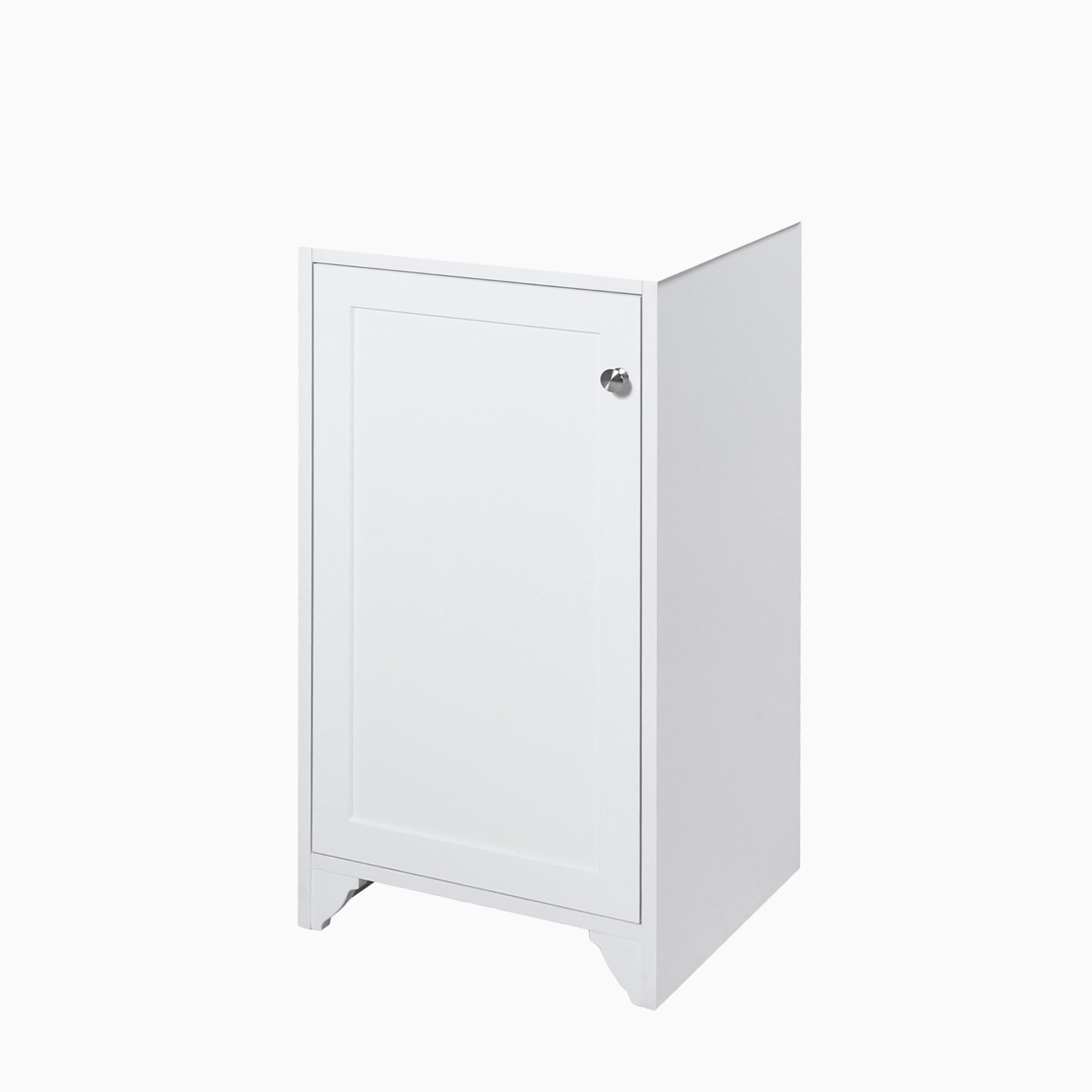 18 Wren Single Sink Freestanding Bathroom Vanity Base Only Without Sink And Top White Transitional Wood