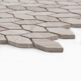 Navi 10-Pack Mosaic Wall and Floor Tile