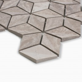 Warren 10-Pack Mosaic Wall Tile