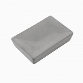 Atticus Rectangle Soap Dish, Concrete