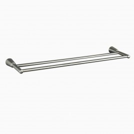 Soma Solid Brass Double Towel Bar