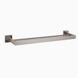 "TriBeCa 24"" Wall Mounted Double Bathroom Towel Bar"