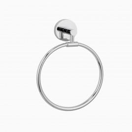 Xander Towel Ring, Polished Chrome
