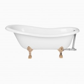 "67"" Audrey Slipper Clawfoot Bathtub"