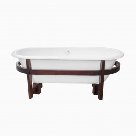 "66"" Halden Cast Iron Bathtub"