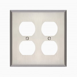 Graham Double Duplex Outlet Cover