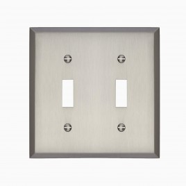 Graham Double Light Switch Cover
