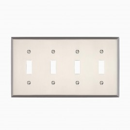 Graham Quad Light Switch Cover