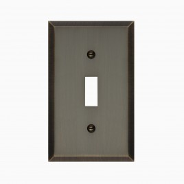 Graham Solid Brass Single Light Switch Cover