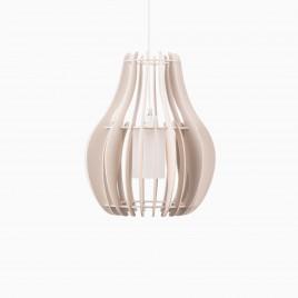 Chianti Medium Wood Pendant Lamp