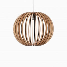 Melros Medium Wood Pendant Lamp