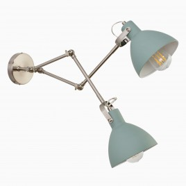 Aimee Double Light, Mint Green