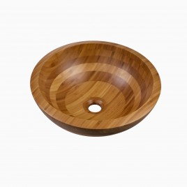 Agata Bamboo Vessel Sink