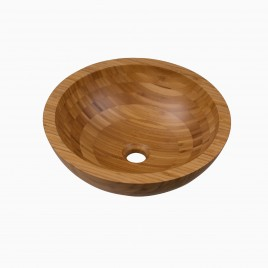 Aria Bamboo Vessel Sink