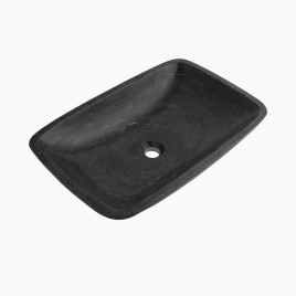 Irving Vessel Sink, Blue Limestone