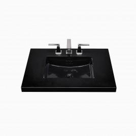 "19"" Daniel Rectangular Ceramic Undermount Bathroom Sink"