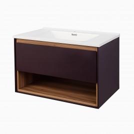 "32"" Carolyn Vanity Set with Shelf"