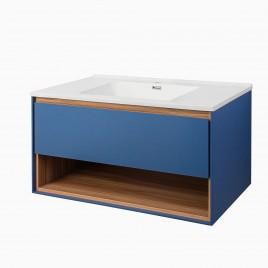 "40"" Carolyn Vanity Set with Shelf"