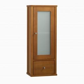 "13"" Cynthia Bathroom Wall Storage Cabinet, Natural Cherry"