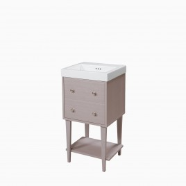 """19"""" Fawn Vanity Set with Marion Ceramic Sinktop"""