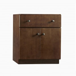 "30"" Samuel Single Bathroom Vanity Base Cabinet Only"