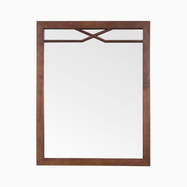 "Abigail 24"" W x 30"" H Framed Wall Mirror"