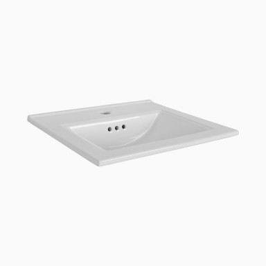 Brockton Ceramic Sink Top with Single Faucet Hole