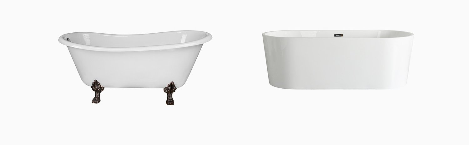 PROS AND CONS: CLAWFOOT VS FREESTANDING BATHTUBS