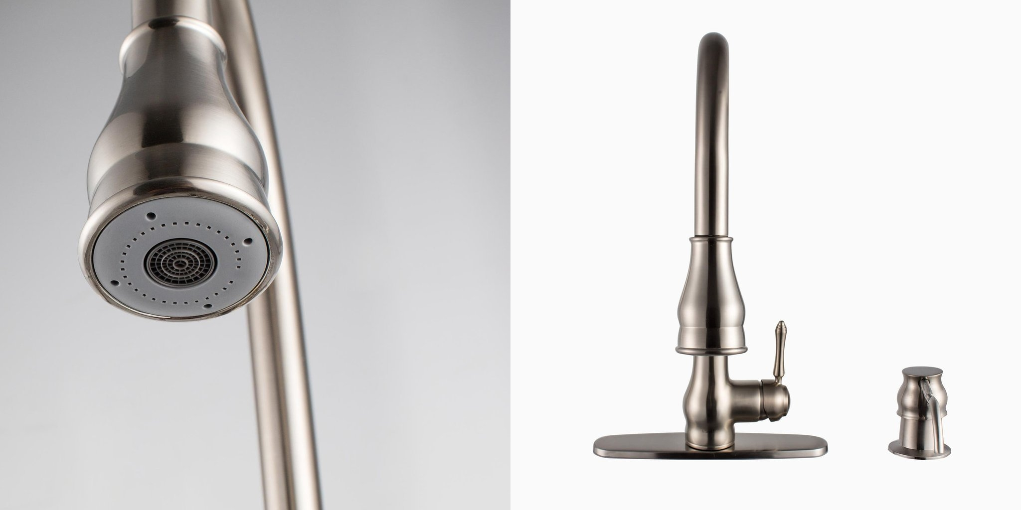 solid brass kitchen faucets