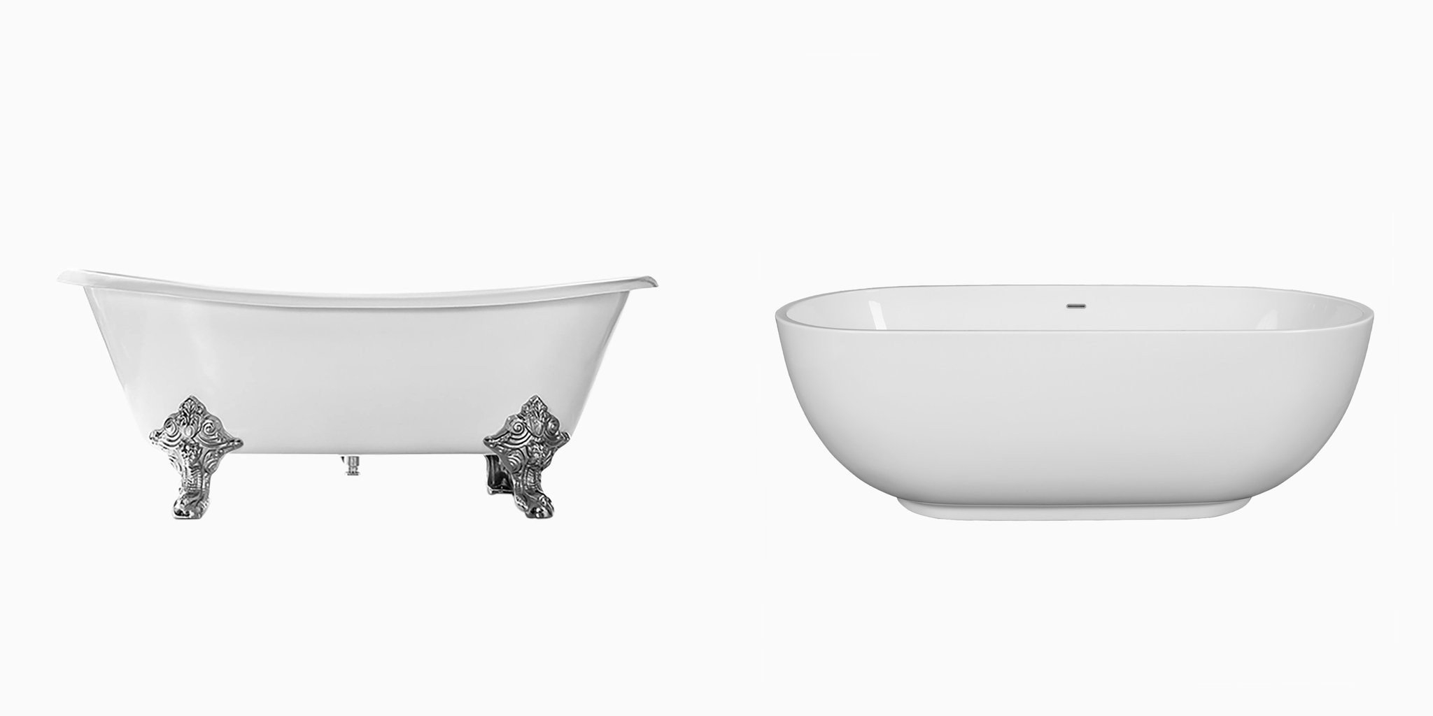 maykke freestanding bathtubs