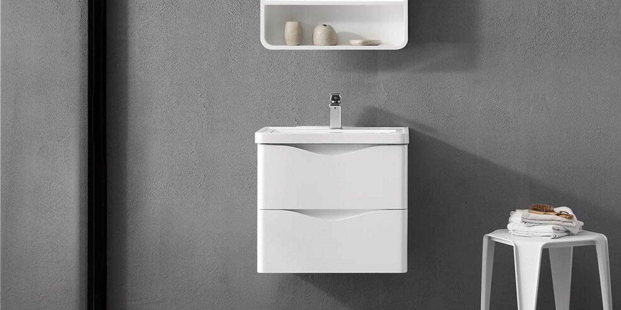 wall mount vanity